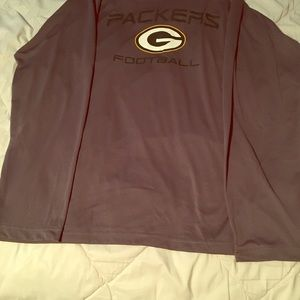 Green Bay packers long sleeve dry fit shirt xl